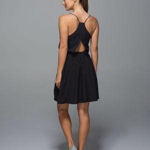Lululemon City Summer Dress Cutout Racerback Pleat